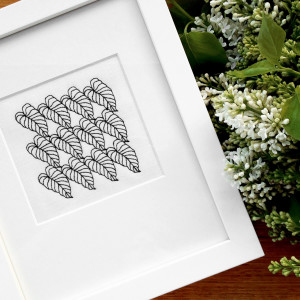 Collected-Patterns-CP1-Embroidery-Framed
