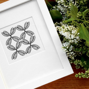 Collected-Patterns-CP3-Embroidery-Framed